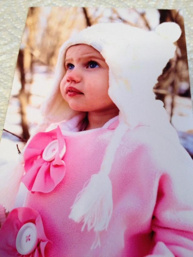Grace in Pink Coak