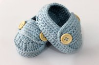Boys100-Handmade-Baby-boy-Booties-Crochet-Pattern-Toddler-Shoes