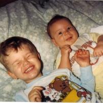 Jay & Justin-Baby Pic