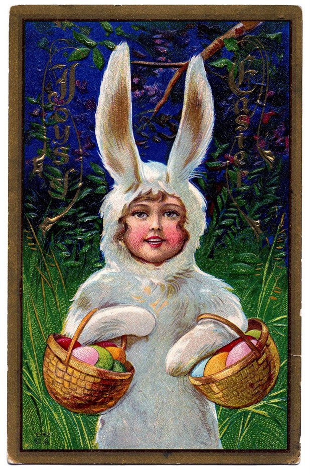 easter+bunny+printable+vintage+image--graphicsfairy007