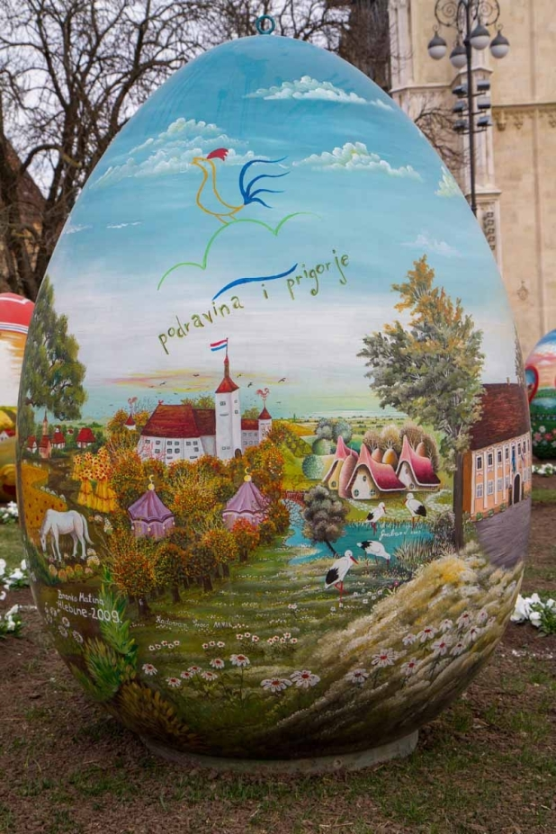Giant Easter Egg 2015 Croatia detail
