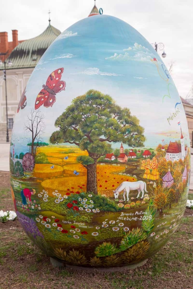 Giant Easter Eggs Croatia 2015 detail