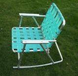 lawn chair rocker