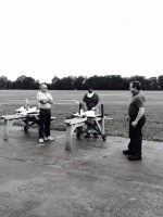 Buder Park Men with Planes