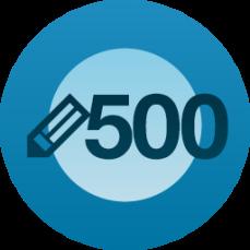 500 posts Image