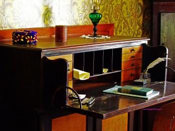 antique writing desk
