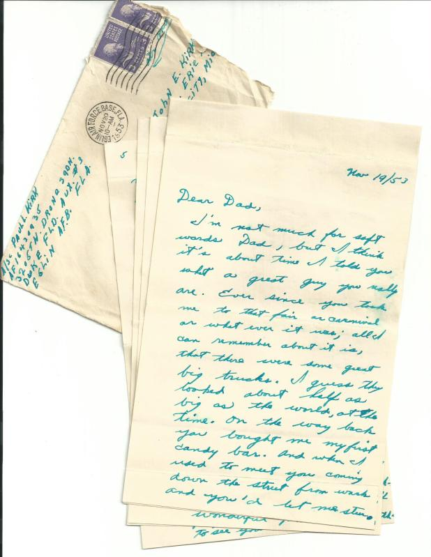Dad's letter
