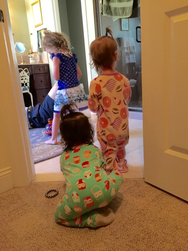 Payton and Livvy from Behind